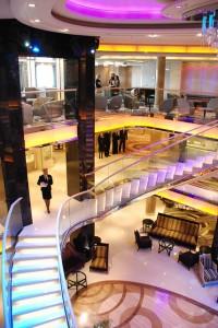 P&0 Cruise Ships - Atrium
