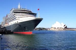 Cunard Queen Victoria In Sydney