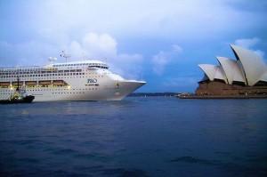 Oz Cruising - P&O Pacific Dawn