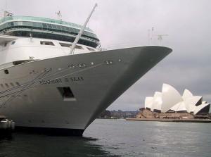 Royal Caribbean Rhapsody Of The Seas In Sydney