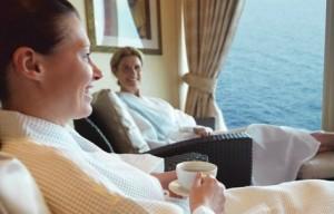 Cunard Royal Spa on Queen Elizabeth Cruise Ship