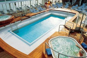 Silver Cloud - The Pool Deck