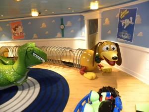 Andy's Room on Disney Fantasy