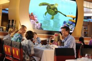 Animators Palate Restaurant on Disney Fantasy Cruise Ship