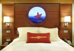 Stateroom / Suite / Cabin On Board Disney Fantasy Cruise Ship