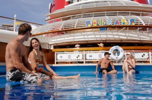 Swimming Pool On Board Disney Fantasy